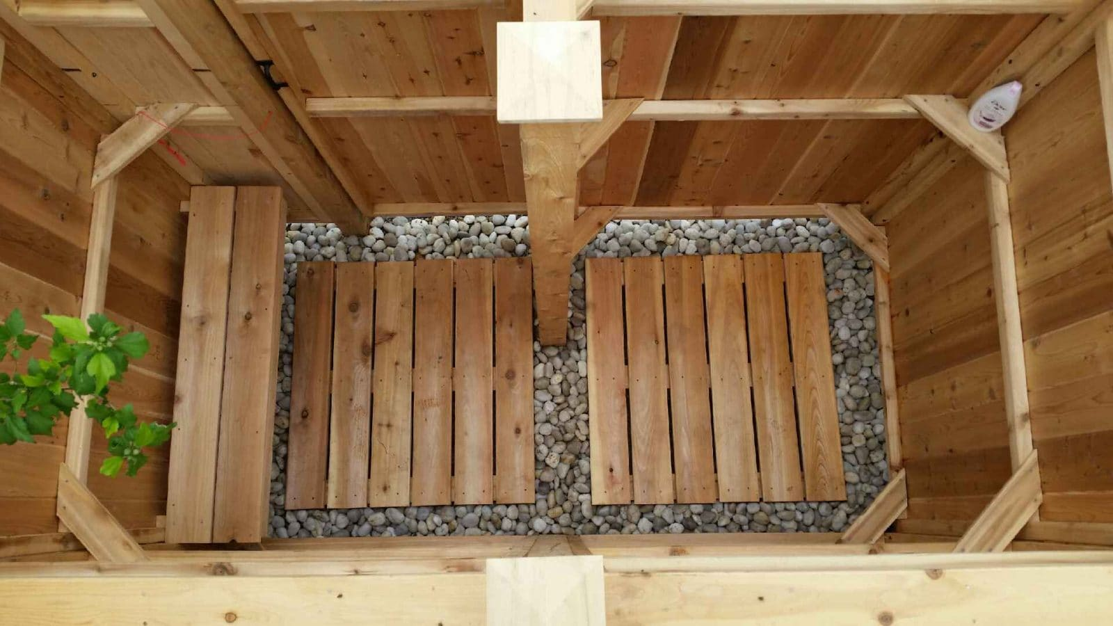 Drainage For Your Outdoor Shower, Outdoor Shower Drainage Pans